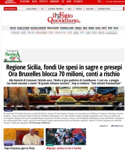Il Fatto Quotidiano 30 Novembre 2015