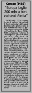 Quotidiano di Sicilia 10 Marzo 2015